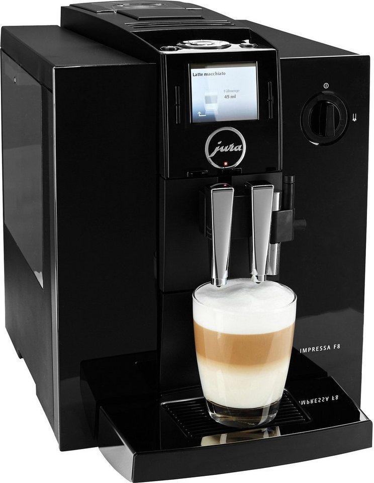 Jura Espresso-/Kaffee-Vollautomat 13731 IMPRESSA F8 TFT in piano black