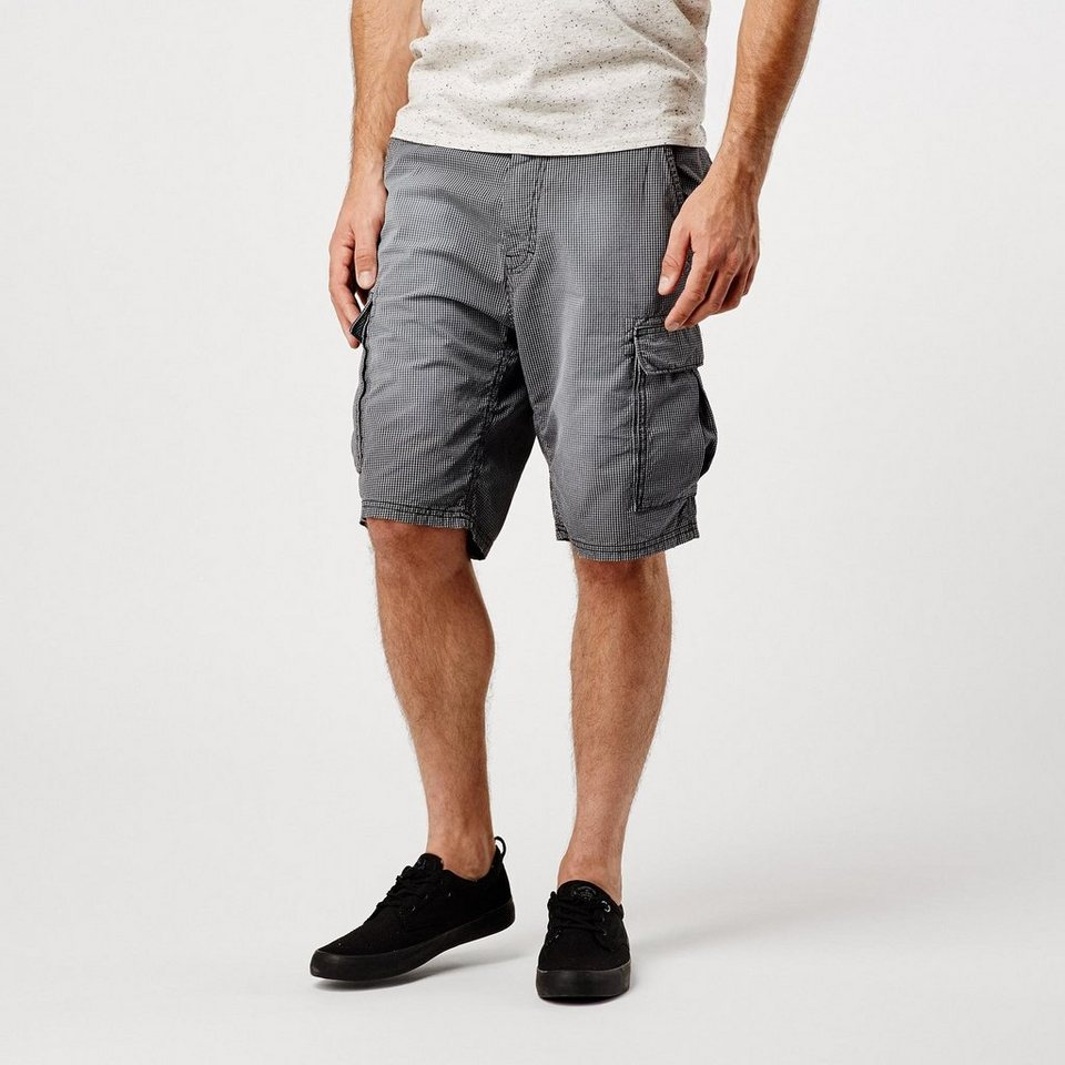O'Neill Shorts »Complex Check Cargo« in Schwarz gemustert