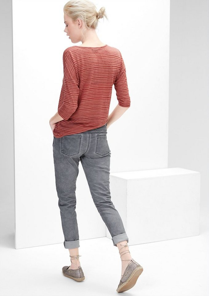 s.Oliver RED LABEL Shape Superskinny: Stretchhose in pearl grey