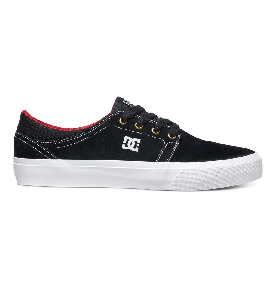 DC Shoes Schuhe »Trase S« in Black/white/true red