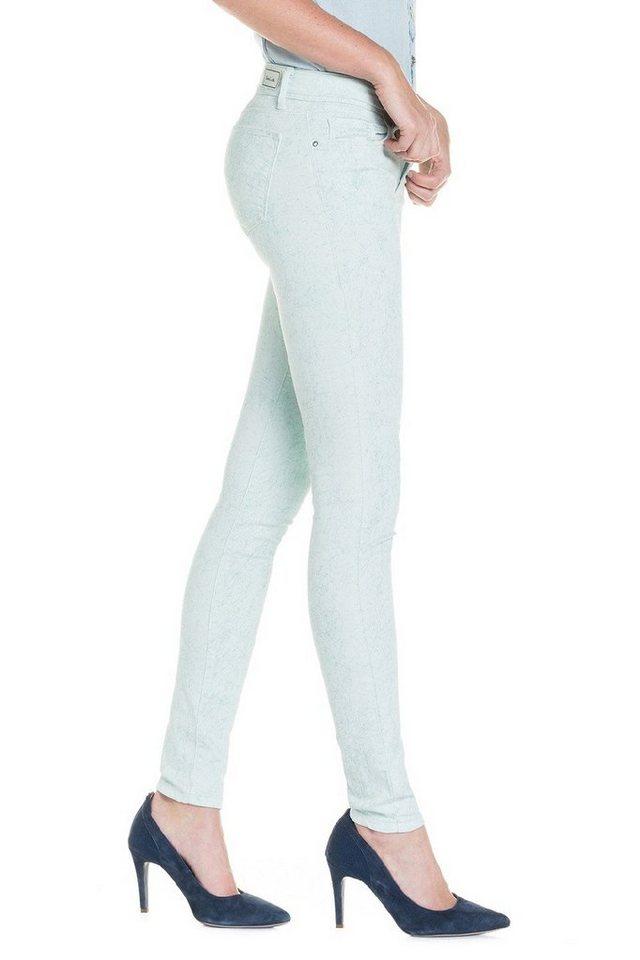 salsa jeans Jean »Comfort/ Skinny Colette« in Green