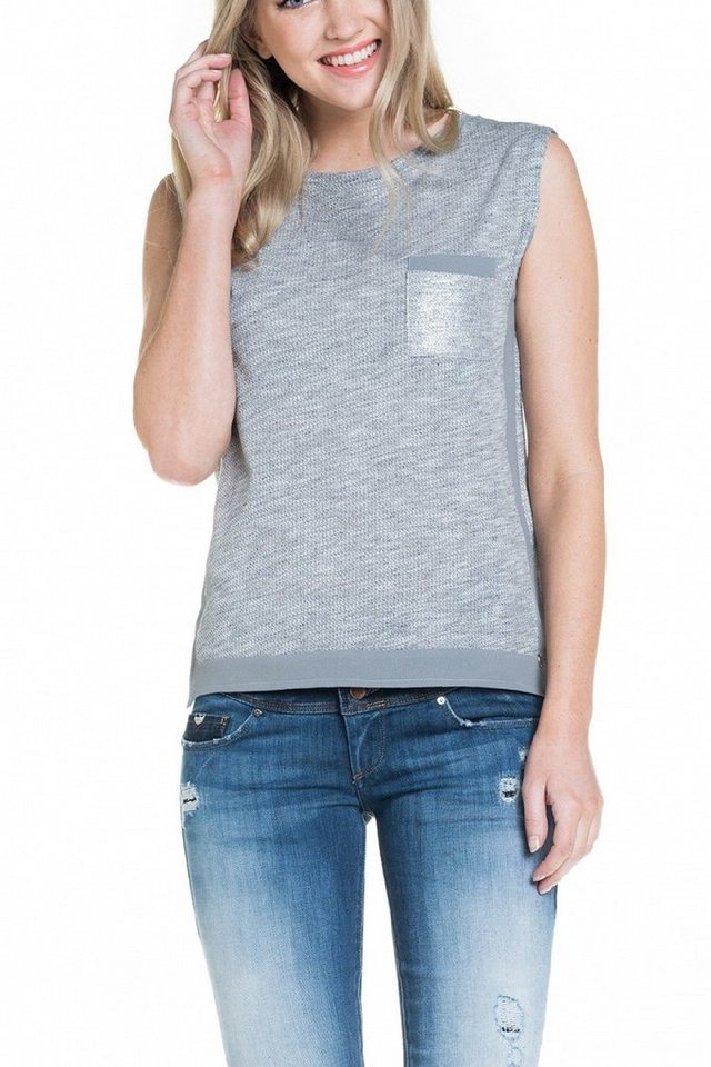salsa jeans Top in Grey