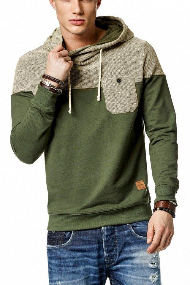 salsa jeans Langarm T-Shirt in Green