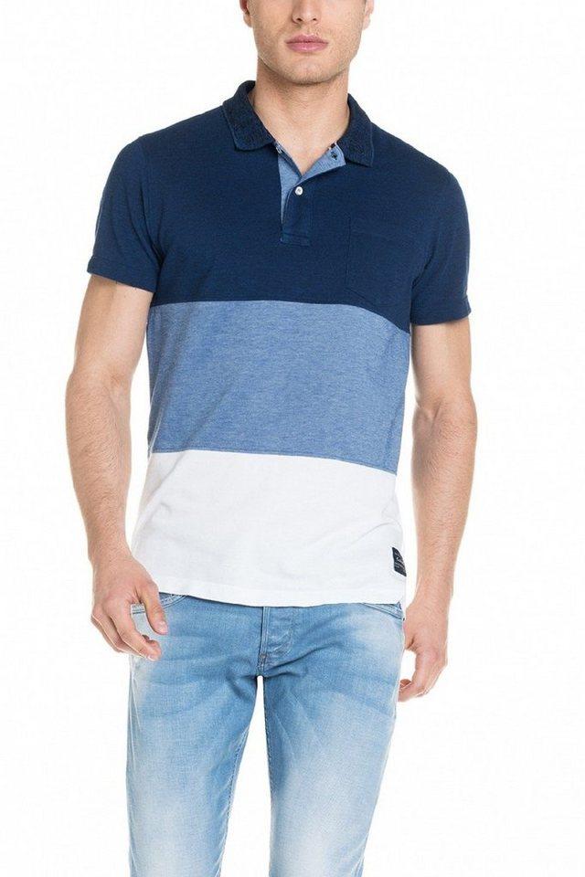 salsa jeans Kursarm Polo Shirt in Blue