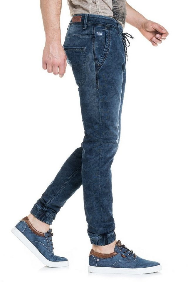 salsa jeans Jean »Slim Carrot/ Slender« in Blue