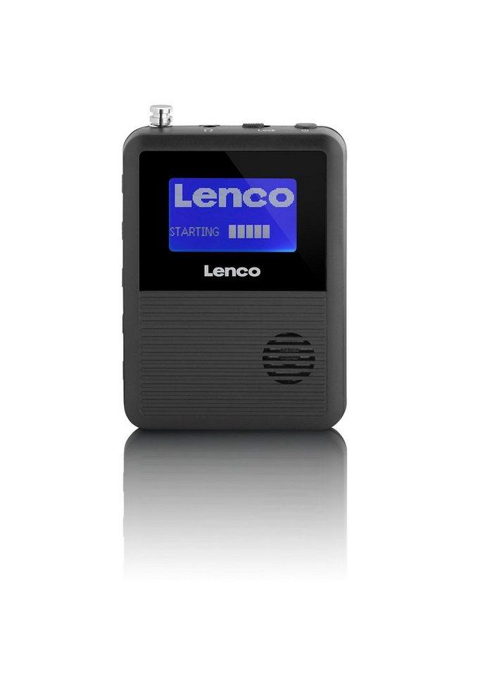 Lenco Taschenradio »PDR-04« in schwarz