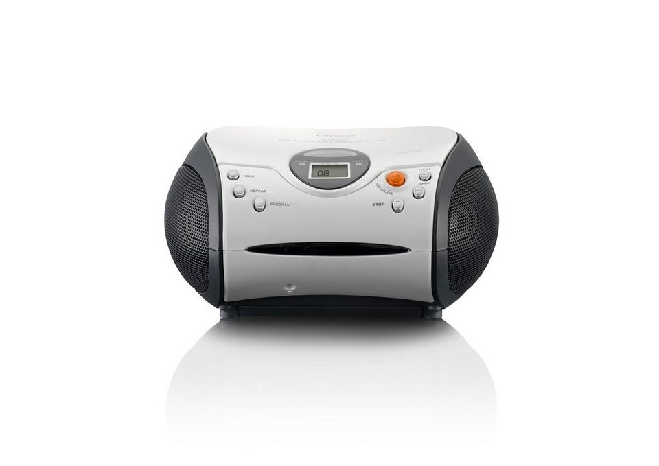 Lenco UKW-Radio mit CD-Player »SCD-24« in weiss