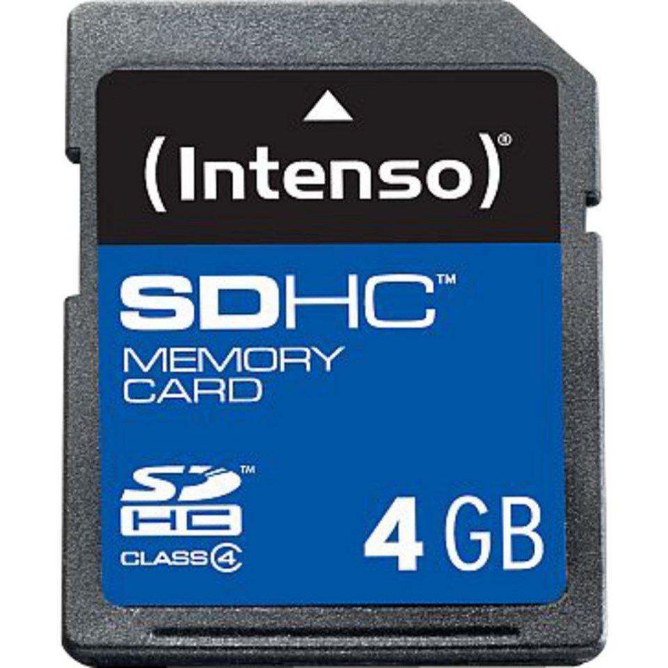 Intenso Speicherkarte »Secure Digital SDHC Card 4 GB«