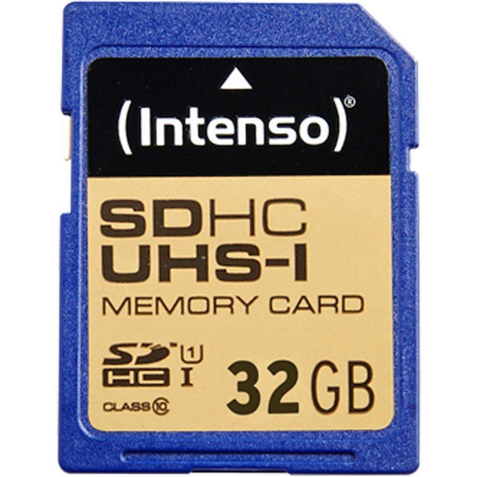 Intenso Speicherkarte »SD 32GB 10/45 Secure Digital UHS-I ITO«