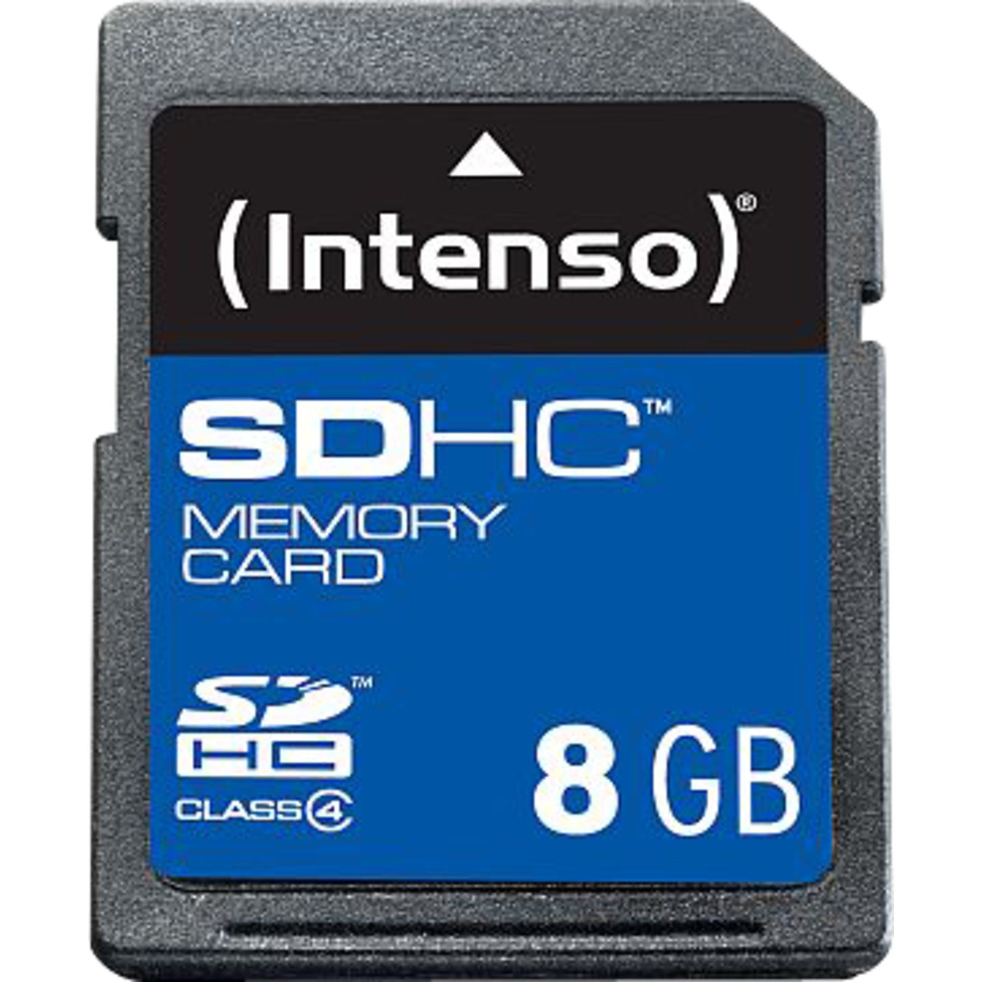 Intenso Speicherkarte »Secure Digital SDHC Card 8 GB«