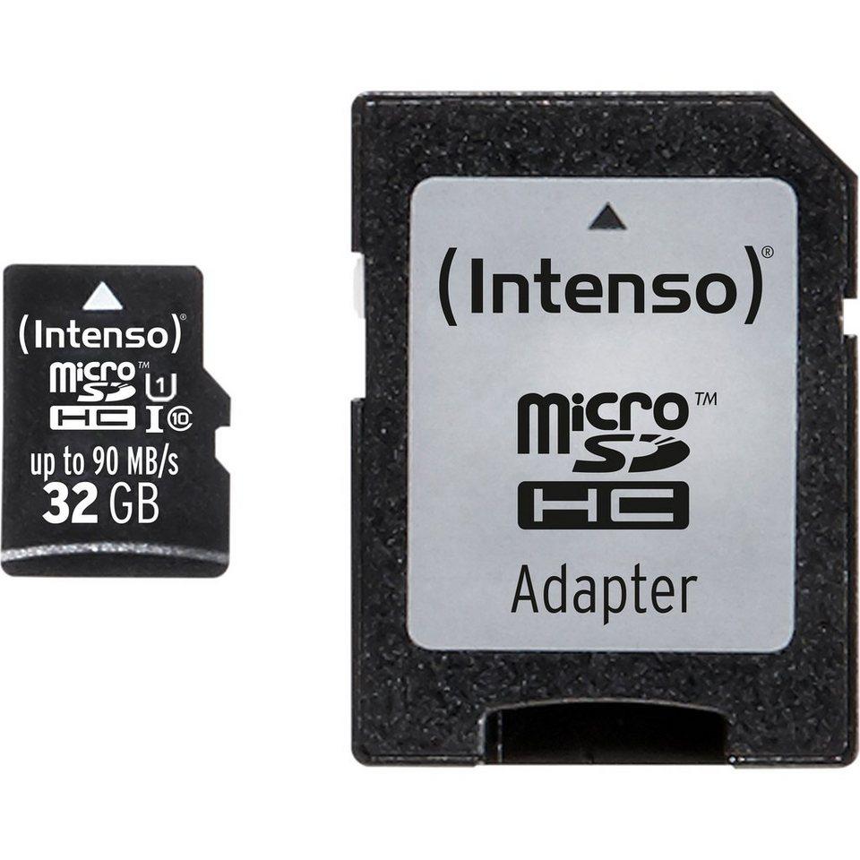 Intenso Speicherkarte »32 GB microSDHC«