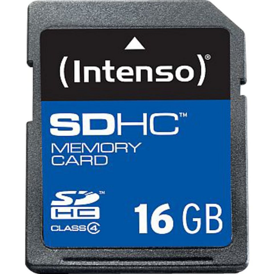 Intenso Speicherkarte »Secure Digital SDHC Card 16 GB«