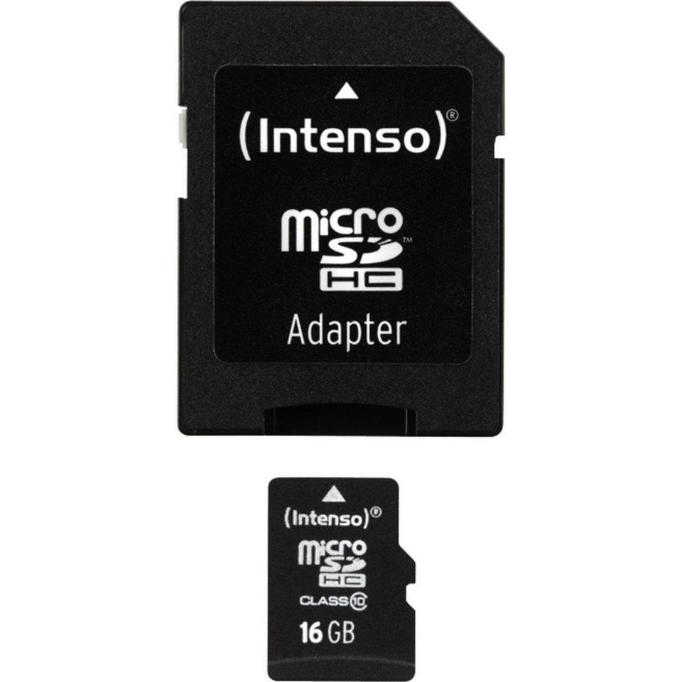 Intenso Speicherkarte »microSDHC 16 GB«