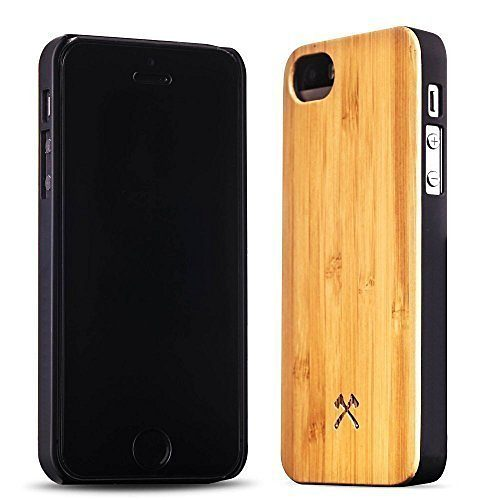 Woodcessories EcoCase - iPhone SE / 5 / 5s Echtholz Case - Camille