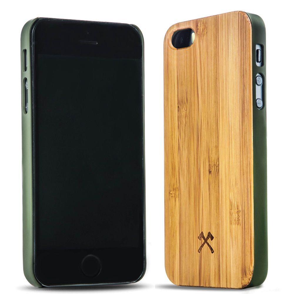 Woodcessories EcoCase iPhone SE / 5 / 5s Echtholz Case - Cliff