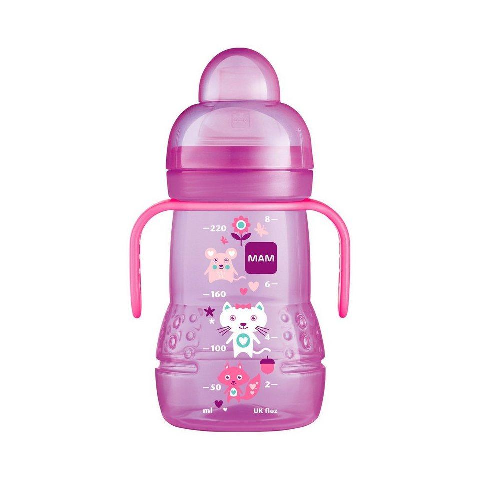 """MAM Trinklernflasche """"Trainer +"""" in pink"""