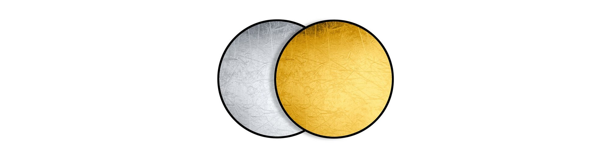 Bresser Fotostudio »BRESSER BR-TR5 Faltreflektor gold/silber 110cm run«
