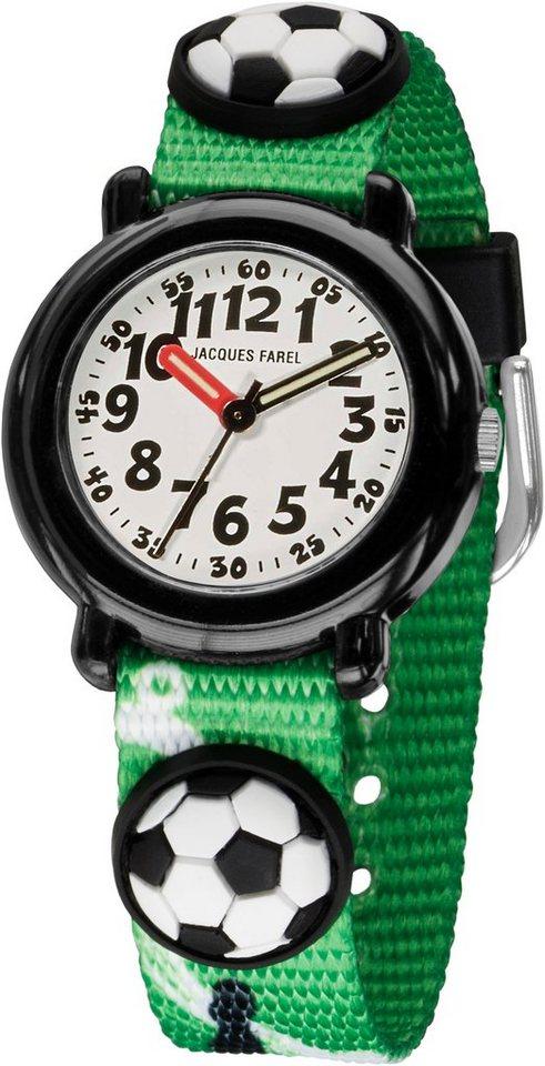 Jacques Farel Quarzuhr »KPA6005« in grün