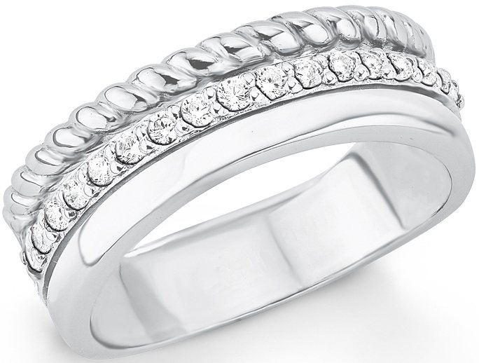 s.Oliver Ring mit Zirkonia, »SO1392/1-4« in Silber 925