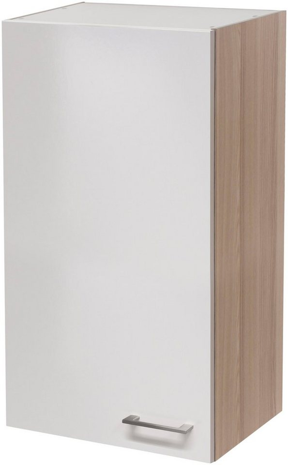 Küchenhängeschrank »Oregon«, Breite 50 cm in perlmuttfarben/akaziefarben
