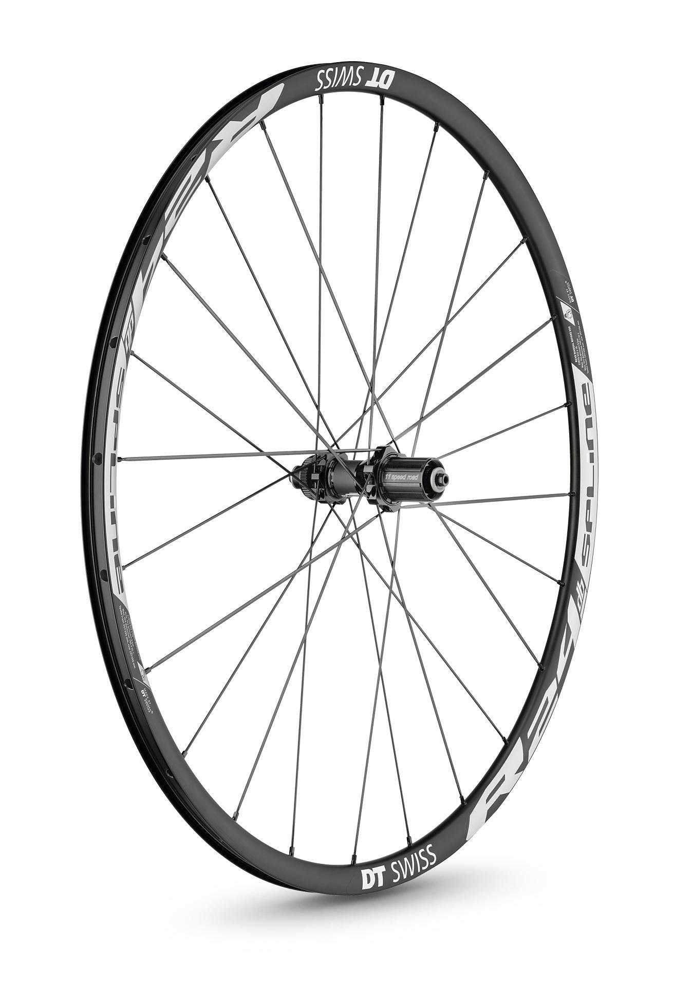 "DT Swiss Laufrad »R 24 Spline Disc Brake Laufrad 28"" HR Alu 142/12«"