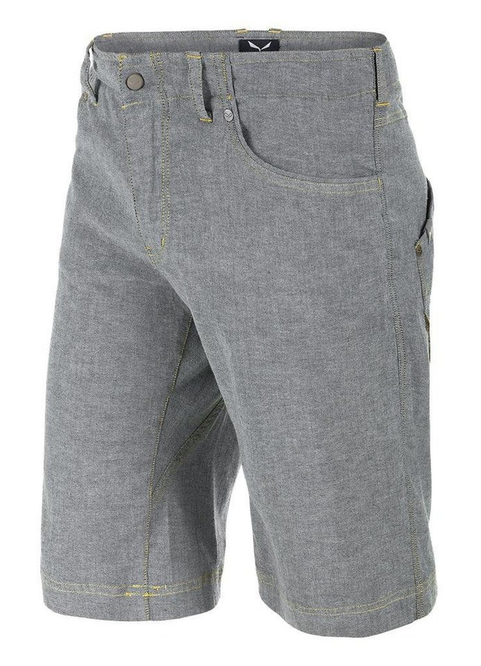 Salewa Hose »Frea Shorts Men CO Denim« in grau