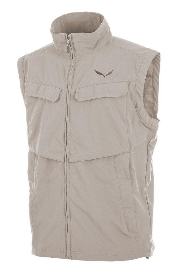 Salewa Weste »Ega Vest Men Dry« in beige