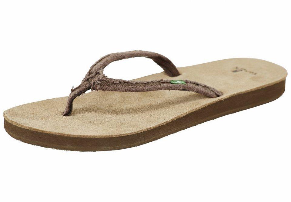 Sanük Infradito »Slim Fraidy Shoes Women« in braun