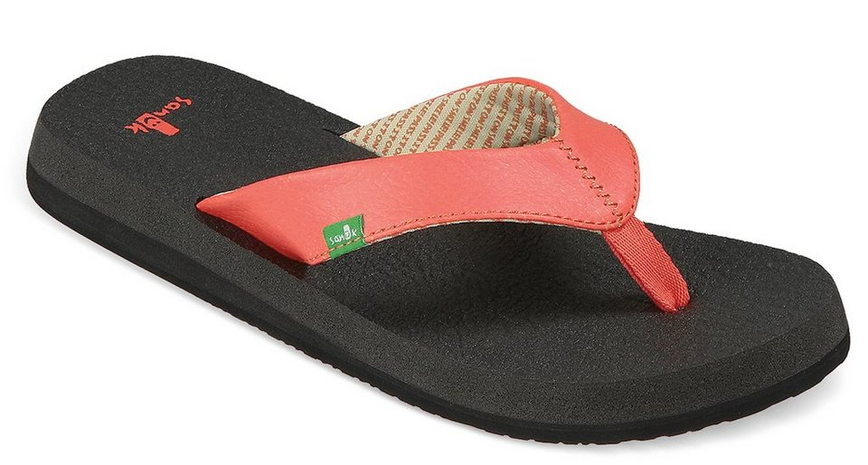 Sanük Infradito »Yoga Mat Shoes Women« in rot