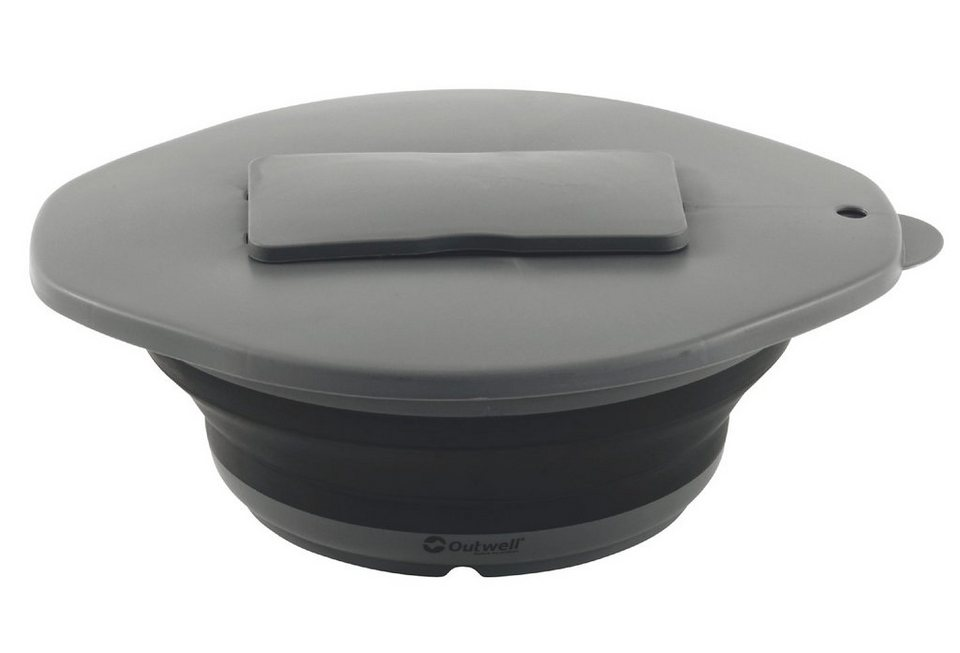 Outwell Camping-Geschirr »Collaps Bowl & Lid with Grater« in schwarz