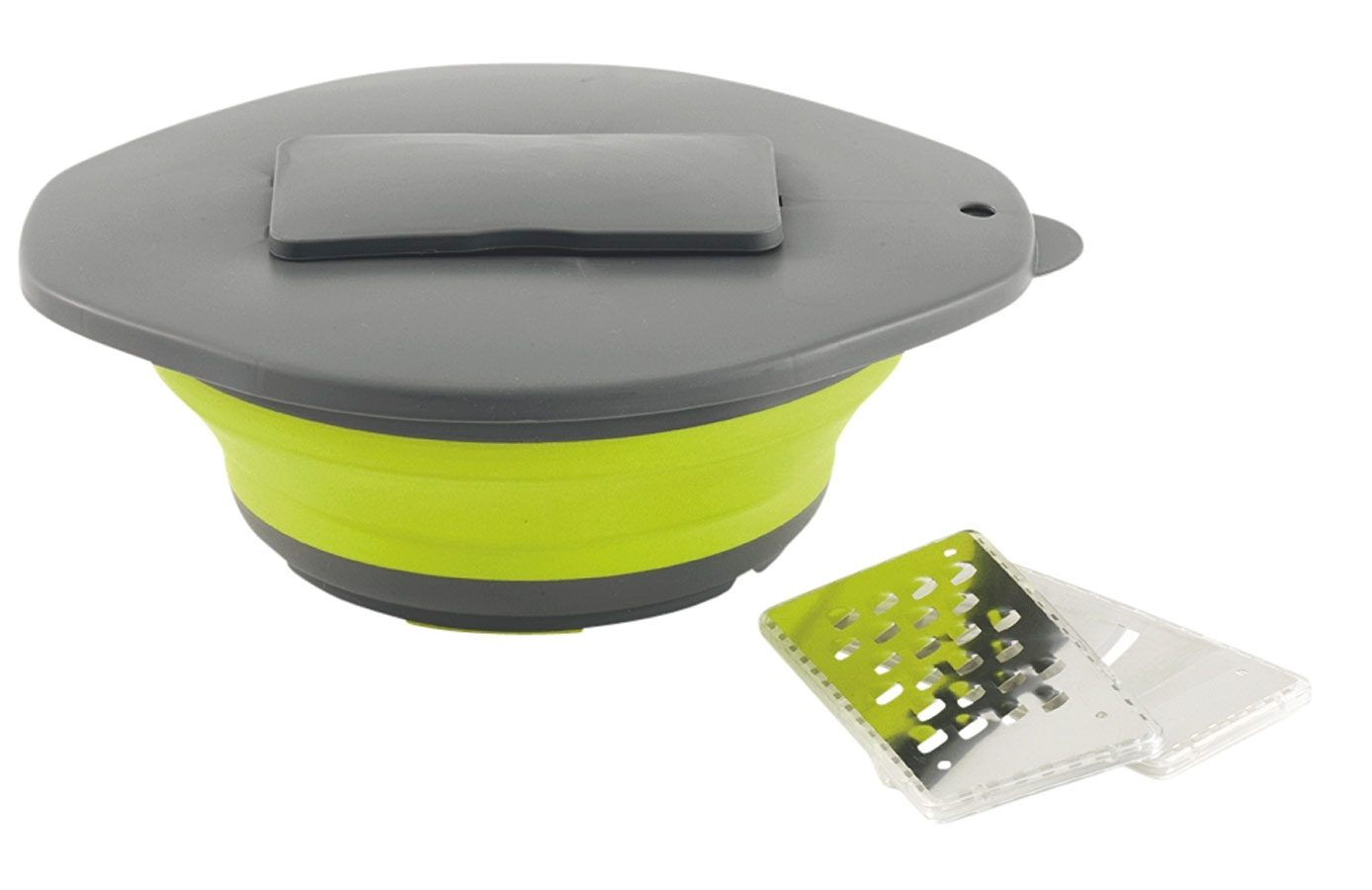 Outwell Camping-Geschirr »Collaps Bowl & Lid with Grater«