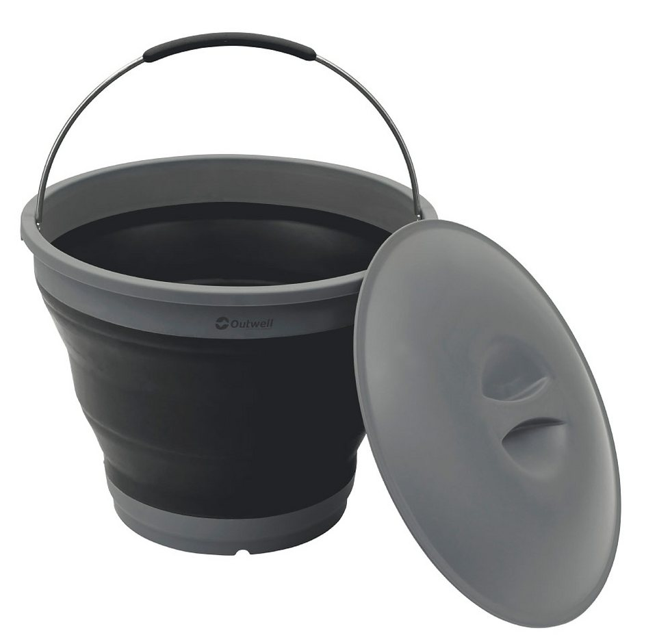 Outwell Wasserkanister »Collaps Bucket with Lid« in schwarz
