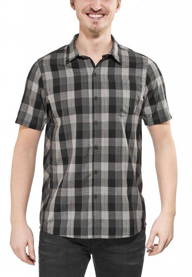 Icebreaker Hemd »Departure II SS Shirt Plaid Men« in grau