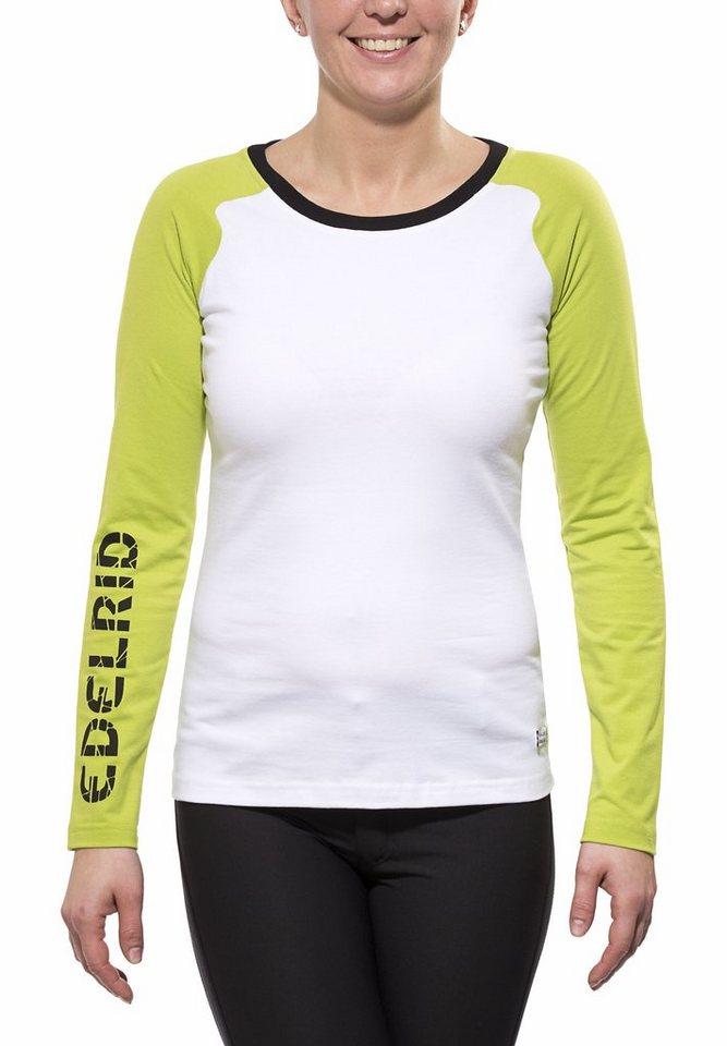 Edelrid Shirt »Misery Longsleeve Women« in weiß