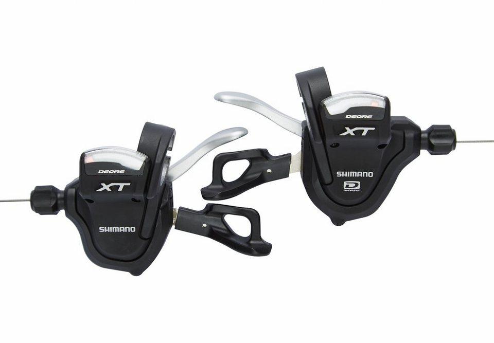Shimano Schaltung »Deore XT SL-M780PA Schalthebelpaar schwarz«