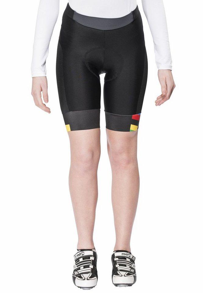 Brügelmann Radhose »Bioracer Pro Race Short Women« in schwarz