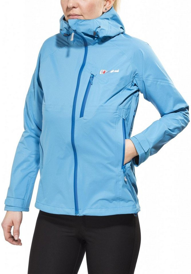 Berghaus Regenjacke »Light Speed Hydroshell Jacket Women« in blau