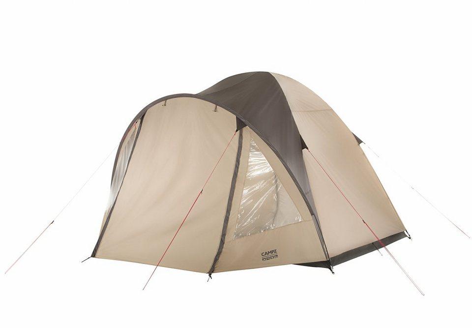 CAMPZ Zelt »Monta Zelt 4P« in beige