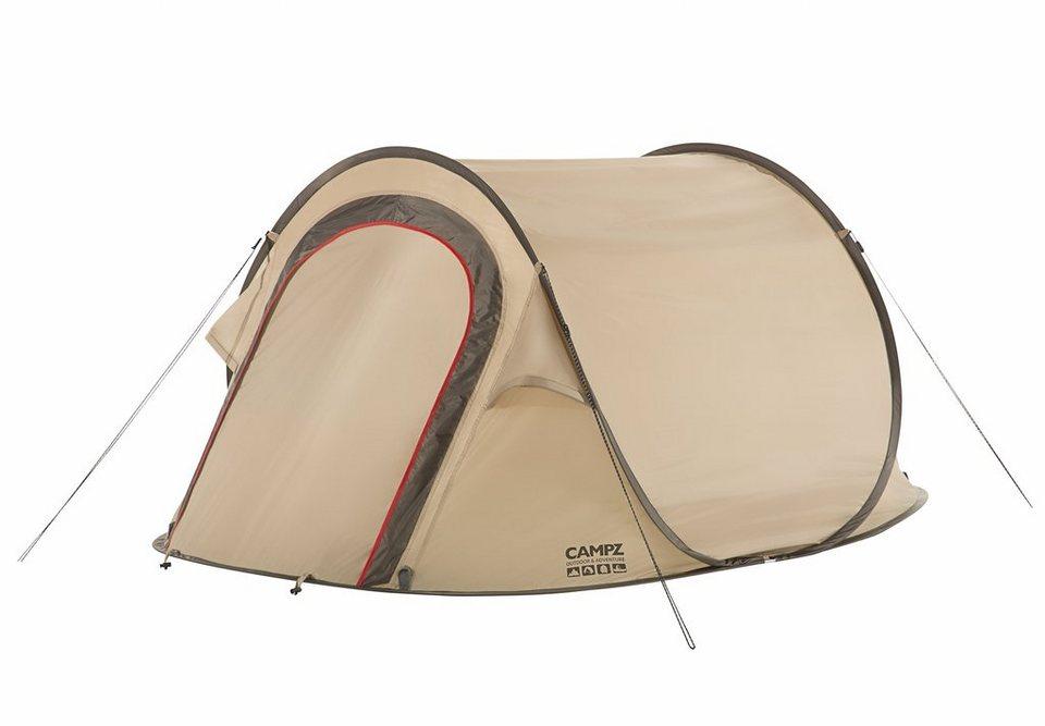 CAMPZ Zelt »Parkland Zelt 2P« in beige