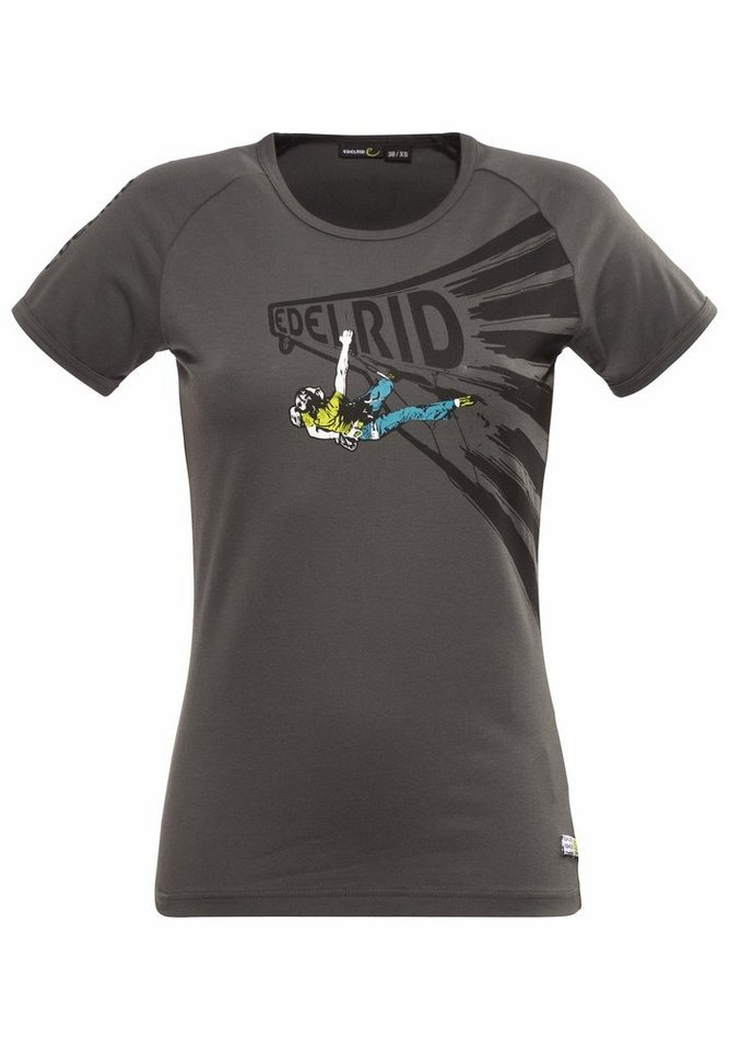 Edelrid T-Shirt »Gearleader T-Shirt Women« in grau