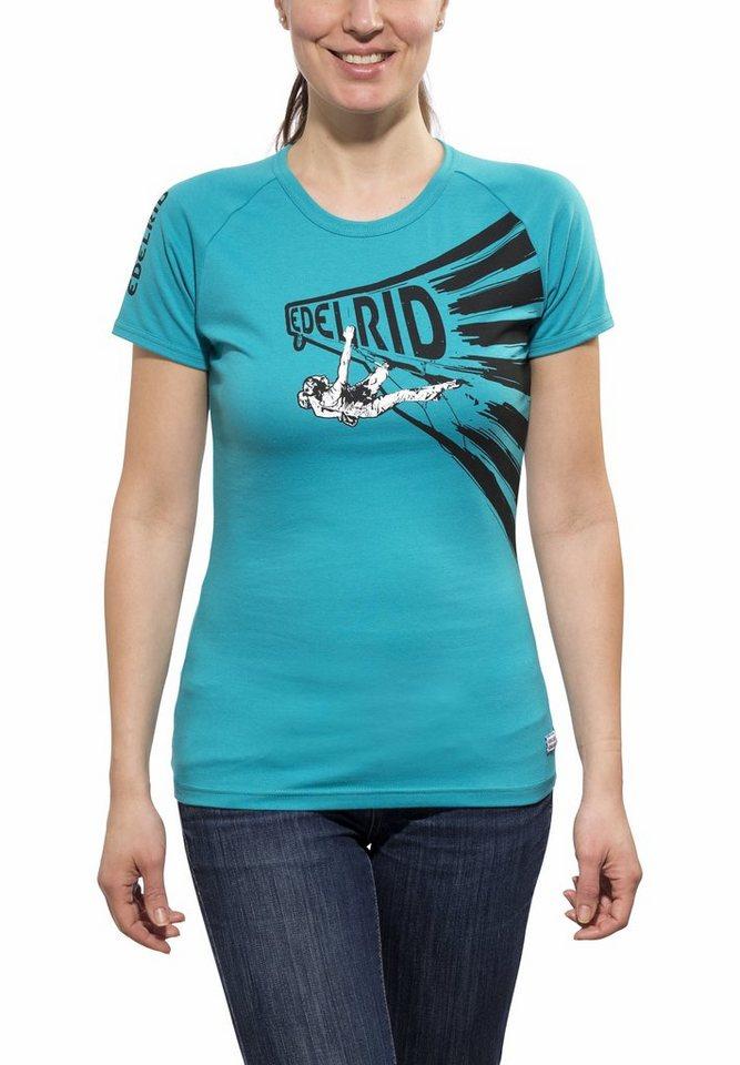 Edelrid T-Shirt »Gearleader T-Shirt Women« in türkis
