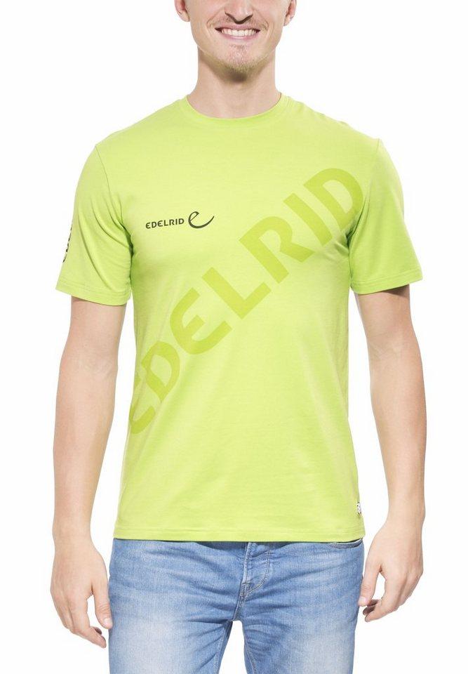 Edelrid T-Shirt »Logo T-Shirt Men« in grün