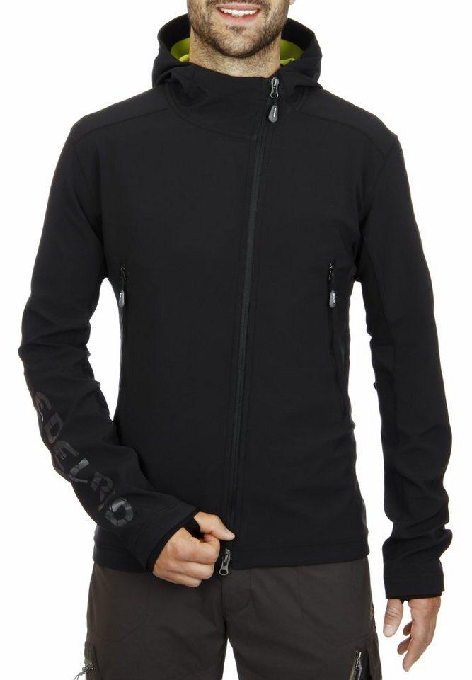Edelrid Softshelljacke »McLane Men Softshell Jacket Men« in schwarz