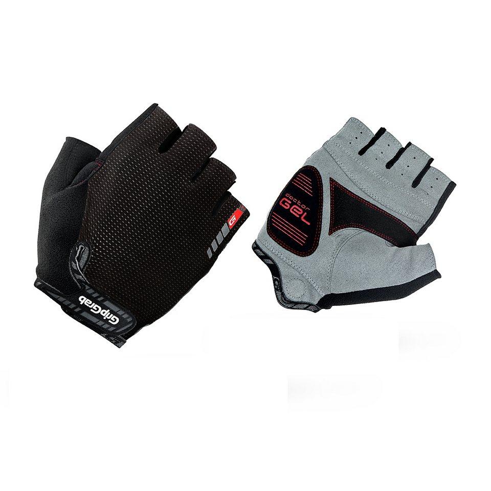 GripGrab Fahrrad Handschuhe »EasyRider Handschuhe schwarz« in schwarz