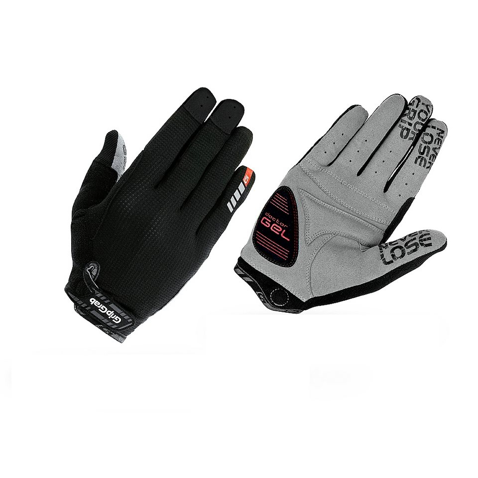 GripGrab Fahrrad Handschuhe »Shark Handschuhe schwarz« in schwarz