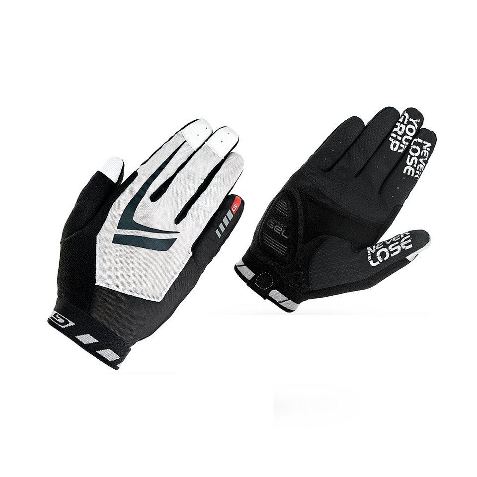 GripGrab Fahrrad Handschuhe »Racing Handschuhe schwarz/weiß« in schwarz
