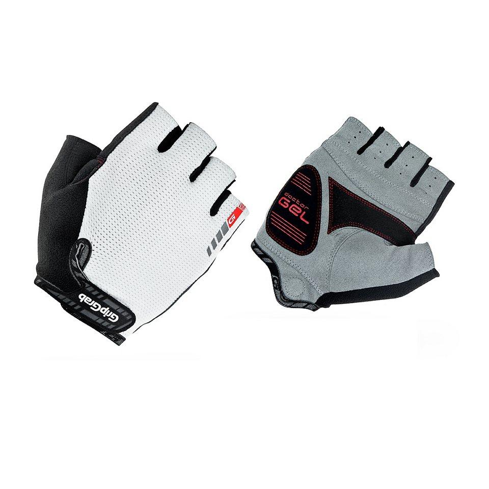 GripGrab Fahrrad Handschuhe »EasyRider Handschuhe weiß« in weiß