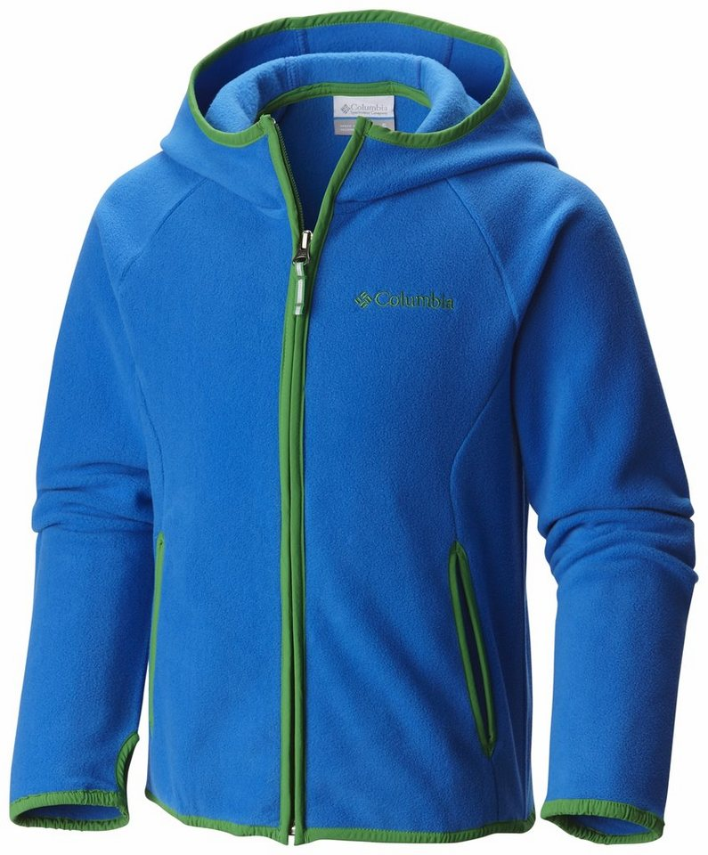 Columbia Outdoorjacke »Fast Trek Hoodie Boys« in blau