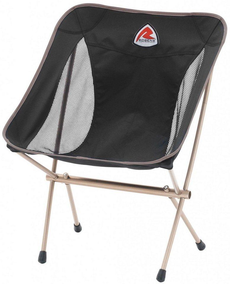 Robens Camping-Stuhl »Pathfinder Folding Chair« in schwarz