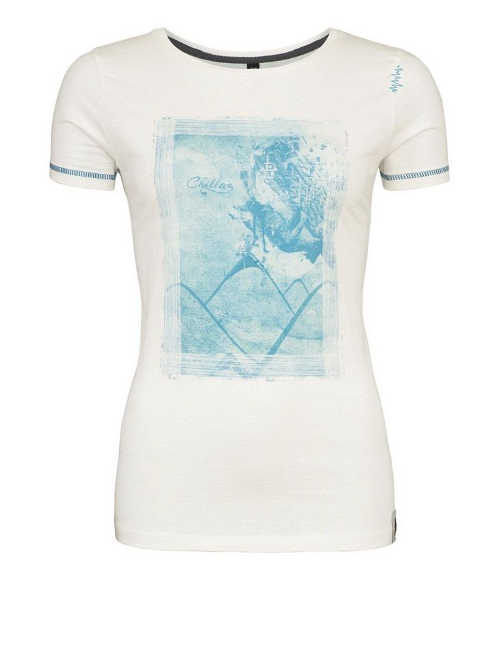 Chillaz T-Shirt »Gandia Climbing T-Shirt Women« in weiß